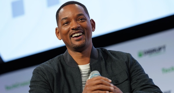 Will Smith just dropped $10K on a startup that pitched him on Disrupt's stage
