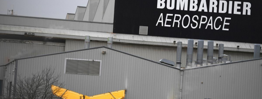 Britain welcomes Spirit AeroSystems' purchase of Bombardier's Belfast site