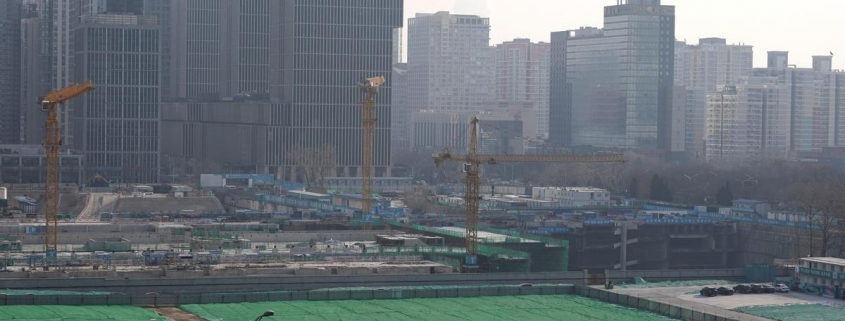China's January-March property investment down 7.7% from a year earlier