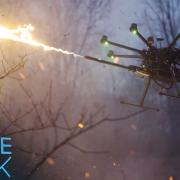 This drone-flamethrower combo is every thrill-seeker's dream