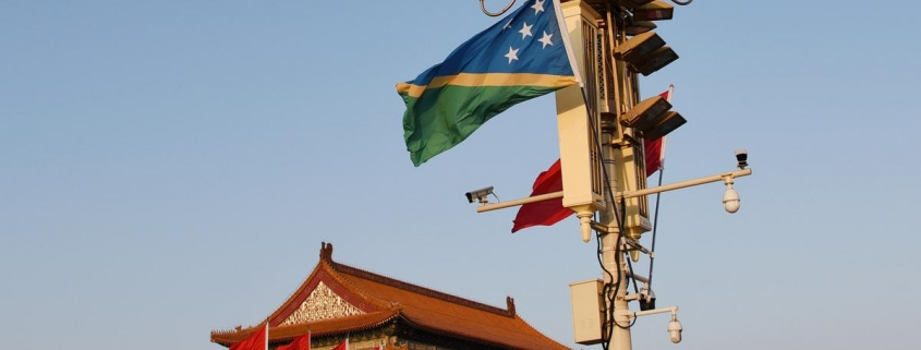 U.S. establishes foothold in Solomons as Chinese interests expand