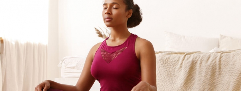I was panicking about the stock market drop, but a guided meditation helped me calm down and close my investment app