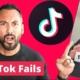 Reacting to Investment Advice TikTok Fails